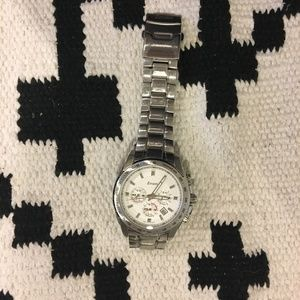 Zovatti silver link men's watch